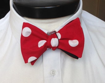 The Walt - Our Disney Inspired bowtie in Minnie Mouse colors
