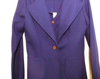 1970s Womens Four-Piece Suit Polyester Suit Vintage Suit Retro Clothes