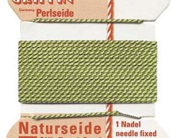 Griffin Natural Silk Cord No.4 Jade