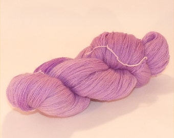 Laceweight BFL Blue Faced Leicester - Lavender Spirit