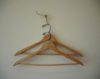 Old Hilton Hotel wood hangers