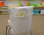 Teachers LOVE Me - Classroom Chair Book Pocket - DIY -Downloadable Instructions