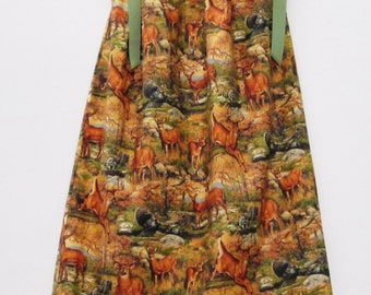 Deer Scene Pillowcase Dress or Many Other Patterns - Made To Order
