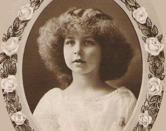 MARIE the MAY QUEEN Princess Marie José of Belgium photo used Belgium Royalty Post Card
