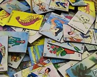 Lot of 6 Mexican Loteria Magnets - You Pick Your Faves