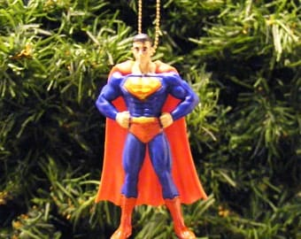 DC Comics Justice League Clark Kent as Superman Christmas Ornament