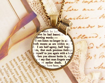 Persuasion - Literature Necklace