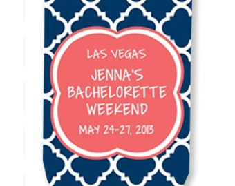Personalized Can Cooler - Can Coolies - Bachelorette Favors - Available in any quantity