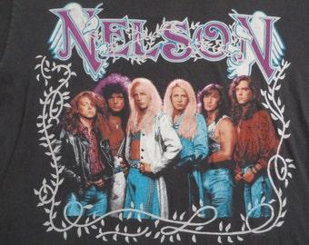 Original NELSON vintage 1990 promo tour TSHIRT