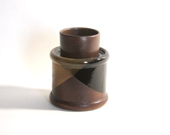 Pottery Craft Wide Candle Holder