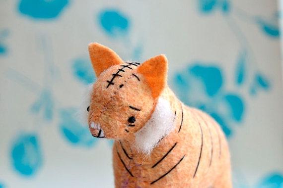 little tiger soft sculpture