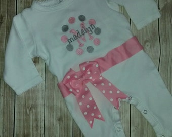 Newborn and Infant Sleeper for Baby and Infant Girls