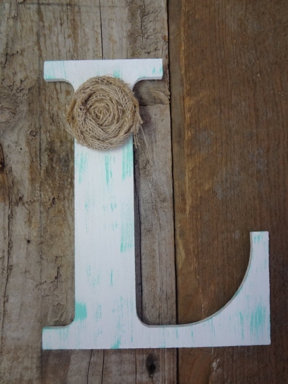 wooden letter l personalize custom rustic chic wooden letter l by 16941