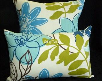 Decorative Pillow Covers  - Set of Two - Monaco Breeze