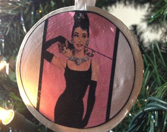 Breakfast at Tiffany's - Holly Golightly (Audrey Hepburn) Ornament