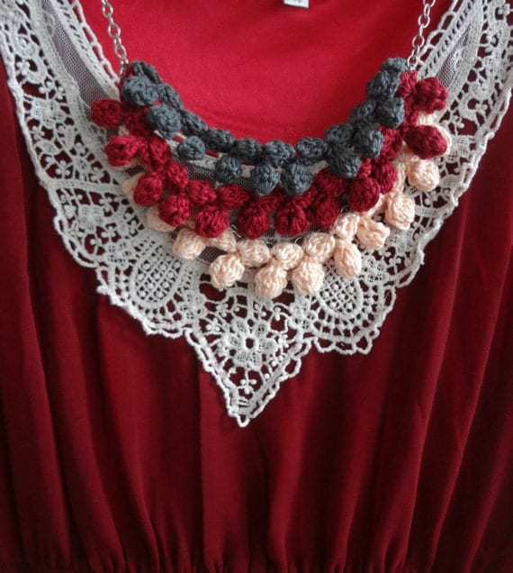 Vine Necklace and Bracelet Pattern