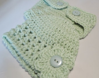 Newborn Baby Beanie Hat and Diaper Cover set   Many colors available. Ready to Ship