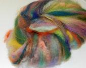 Baby Kitchen Sink Batt Art Batt for spinning and felting