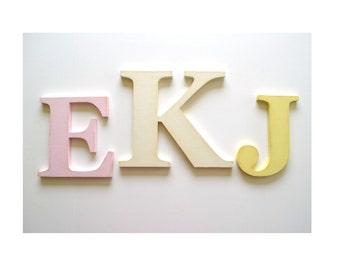 Nursery Letters - Monogram - Wood Letter