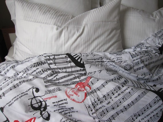 Guitar Bedding Queen Size