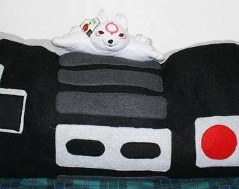 Retro Game Controller Body Pillow