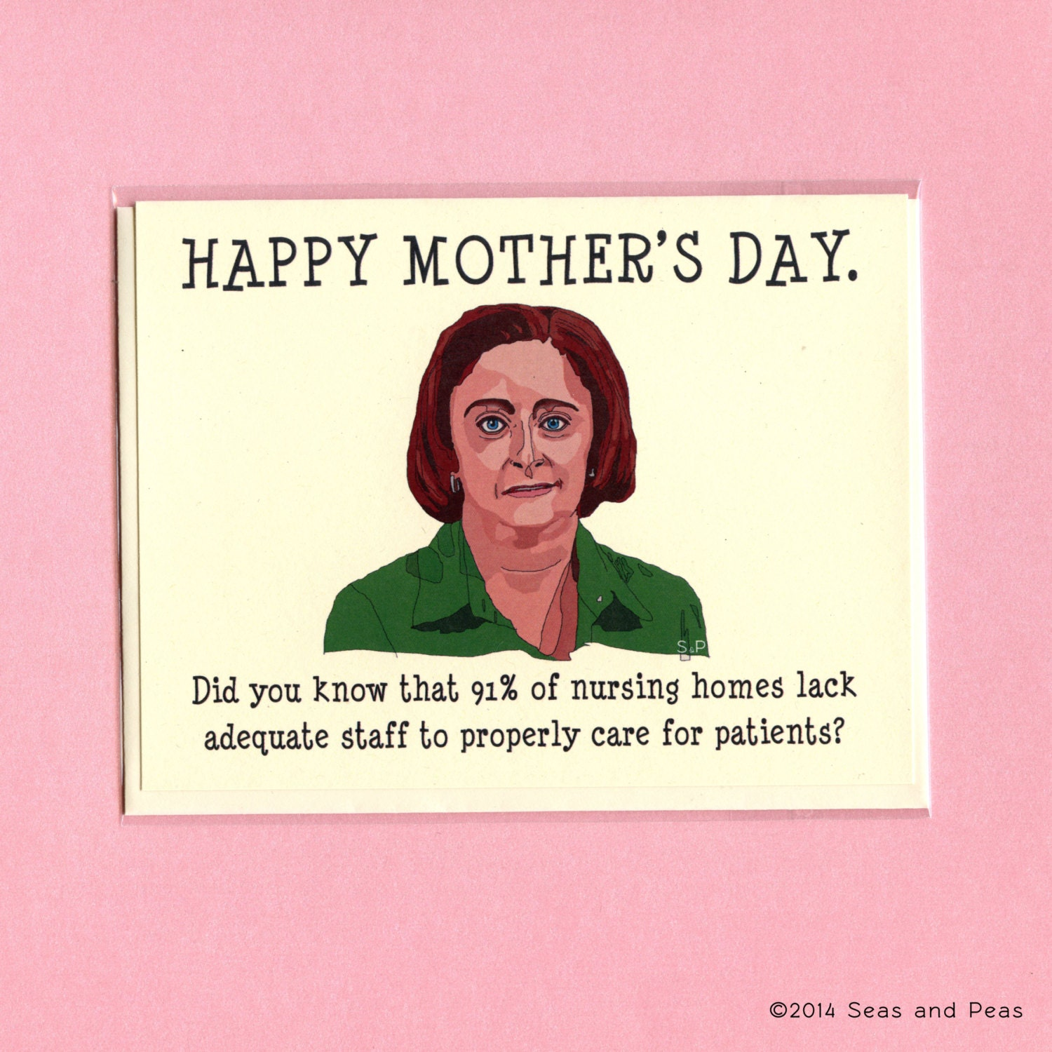 DEBBIE DOWNER MOTHER'S Day Funny Mother's Day Card