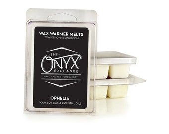 Ophelia - Peppermint and Rosemary Scented - 6 Pack All Natural Soy Wax Melts
