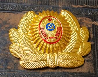 Vintage cockade, part of  Soviet Russian Army Uniform badge