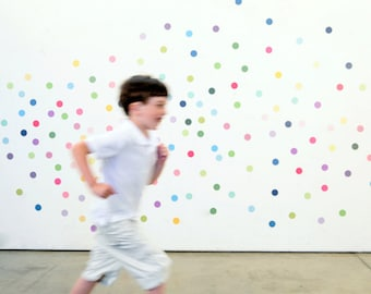 Fun Fetti Eco-Friendly Reusable Fabric Wall Decals by Pop & Lolli