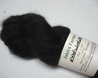 Bay Black Alpaca Roving-80 Percent Alpaca and 20 Percent Merino