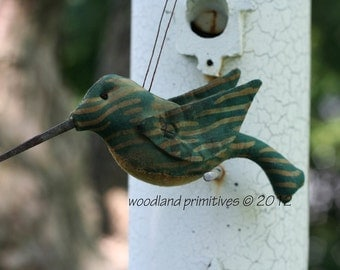 Woodland Hummingbird pattern...make your day fly away and your sales soar!