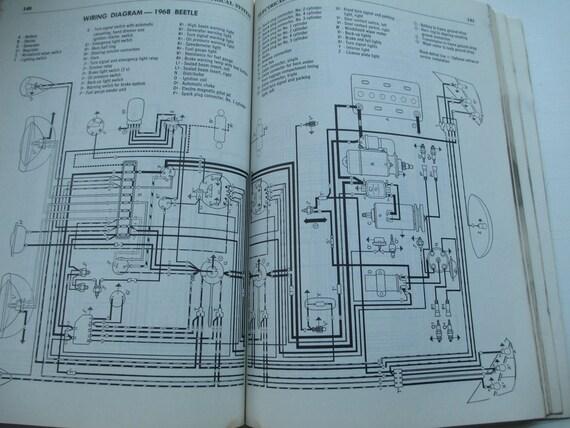 Clymer Volkswagen Service Repair Handbook Fastback and Squareback 1962-1972