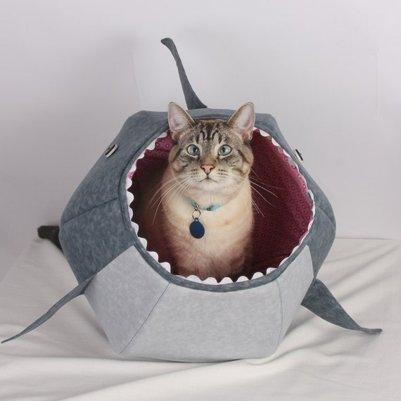 The Cat Ball Cat Bed Funny Pet Bed for Shark Week