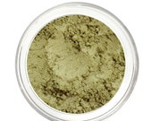 SALE OLIVINE - Eyeshadow - Green - Mineral Makeup - Pure & Natural Mineral Eye Color Pigment - Noella Beauty Works
