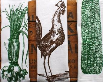 Flour sack towels: Farmhouse edition