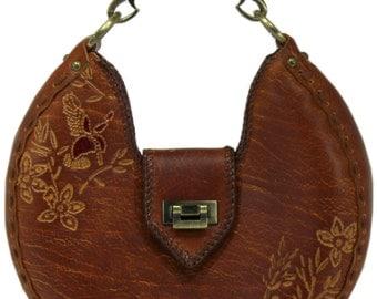 Tooled Leather Handbag - Berkshire
