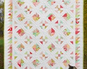 Quilt Pattern - Carnival - Layer Cake or Jelly Roll Pattern PDF INSTANT DOWNLOAD
