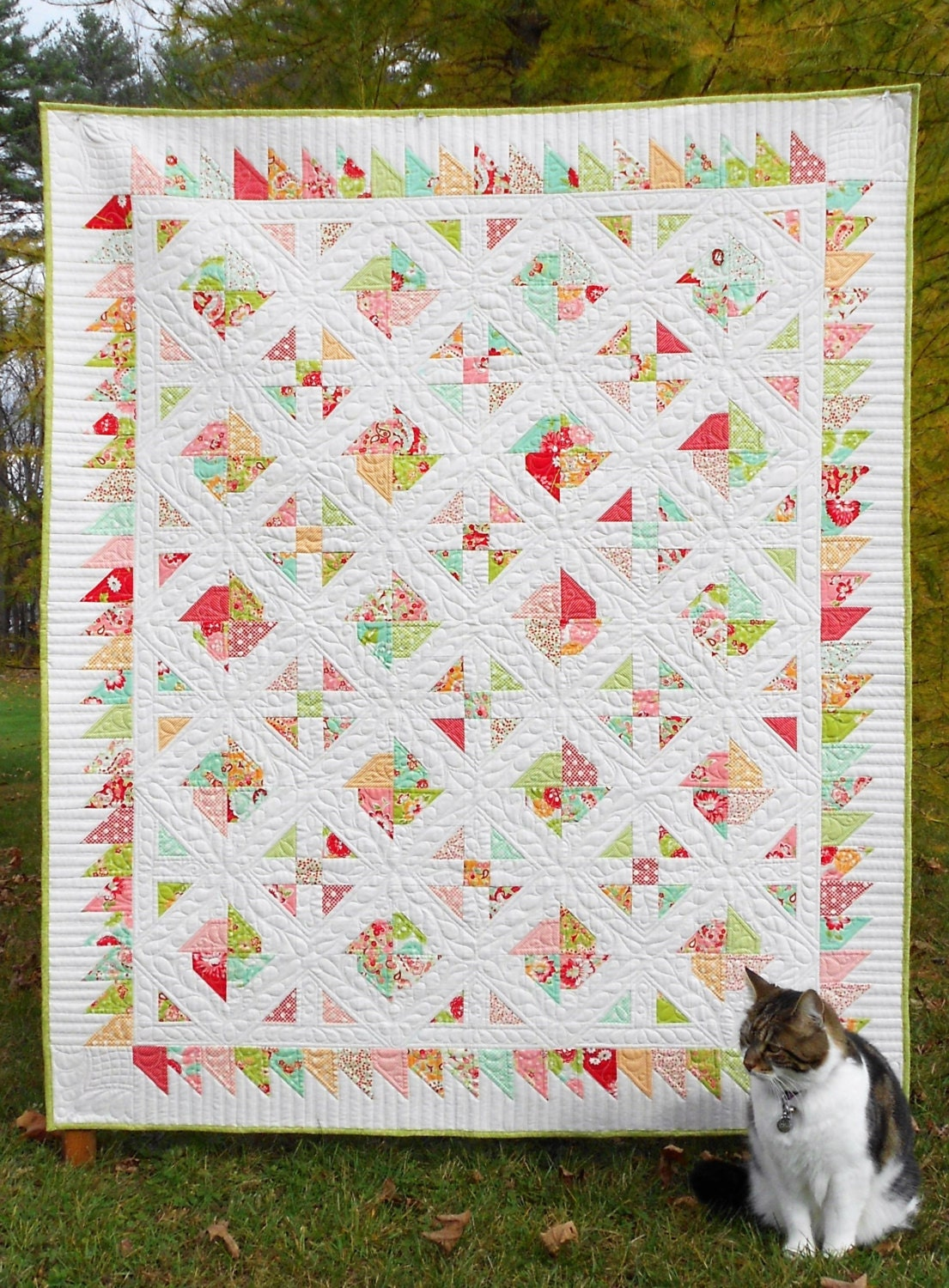 Layer Cake Quilt Moda : Quilt Pattern Carnival Layer Cake or Jelly Roll Pattern