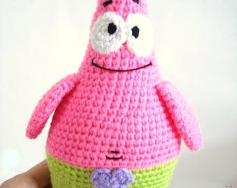 Patrick Star Amigurumi Pattern : Crochet Amigurumi Patterns Gifts Baby Weddings Toys by ...