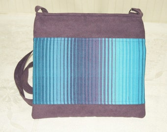 MESSENGER // SMALL Bag Purple with Girasol no.25