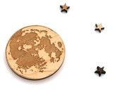 Full Moon Rising Magnet - Laser Cut Laser Engraved Wooden Lunar Full Moon Magnet