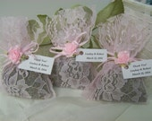50 wedding favors sachets, lavender sachets, wedding day, pink sachets, wedding sachets