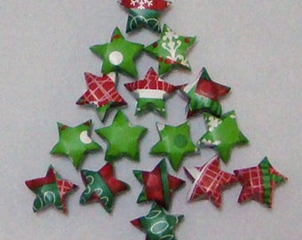 Lucky Stars (100): Christmas Wrapping Paper