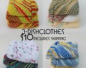 Knit Dish Clothes Set