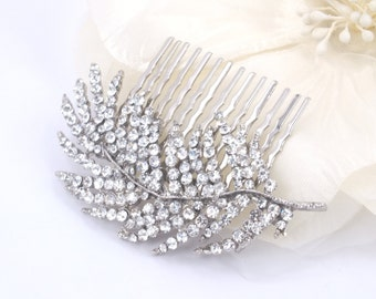 Svelte - Vintage Style Rhinestone Hair Comb