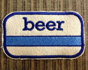 PATCH - Generic Blue Stripe BEER