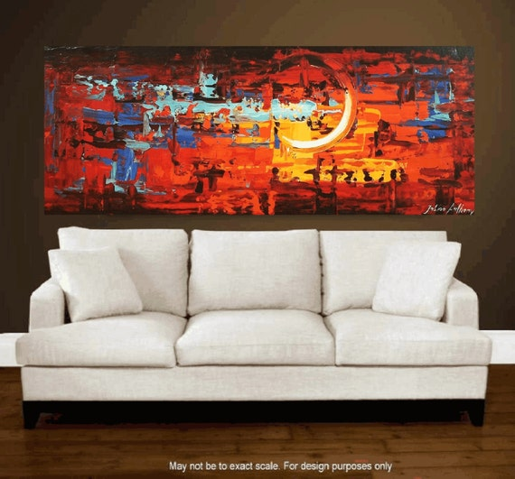 "Art Painting Acrylic Painting Wall Decor Wall Art  72"" large Painting from Jolina Anthony"