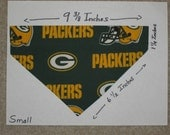 Green Bay Packers Dog Collar Bandanna Scarf - Small