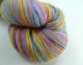 Sock Weight Bamboo blend Yarn: Gentle Rainbow 436 yds