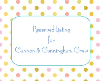 Reserved listing for Cannon & Cunningham Crew  200 pcs lip balm sample jars 3ml